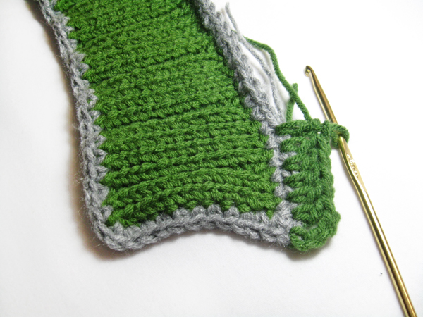 Knit neck warmer pattern tutorial