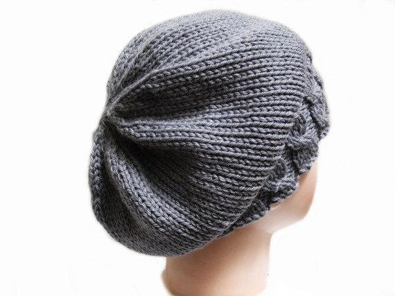 knitting pattern, pattern hat, pattern beanie, pattern slouchy
