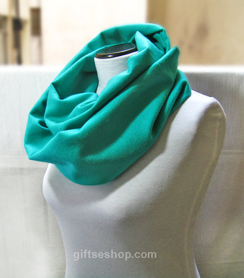 infinity scarf sewing pattern, loop scarf