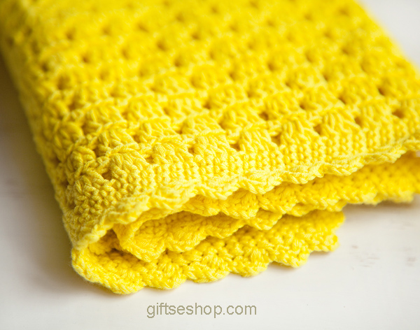 Crochet Baby Blanket Pattern for Beginners