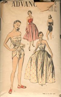 Vintage Diaper Swimsuit Wrap Style