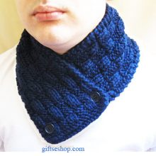 Knitting pattern neckwarmer