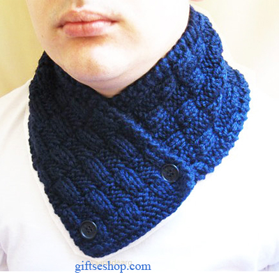 Knitting Pattern Scarf Neck Warmer : Knitting pattern instruction scarf neck warmer n6   Gifts shop