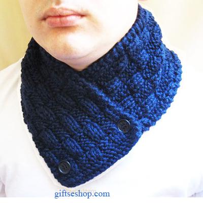 Knitting Pattern Instruction Scarf Neck Warmer N6 Gifts Shop
