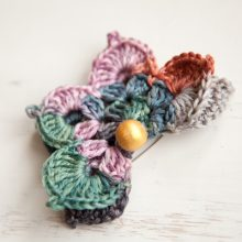 Crochet Butterfly Brooch Pattern