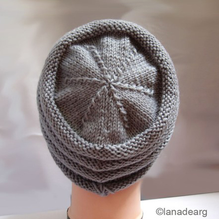 """knit hat pattern slouchy"""" height="""