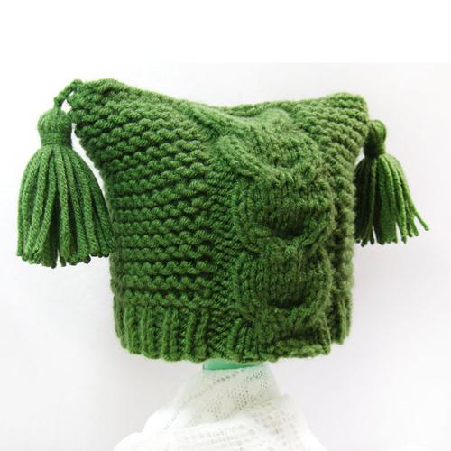 Knit Baby Hat, Newborn Hat - Baby Hat 0-3 months