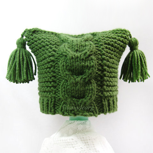 Knitting pattern for baby hat 0-24 month in PDF
