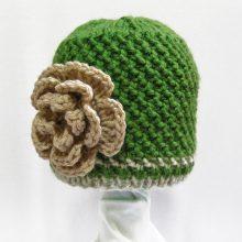Knit Baby Hat Cashmere Merino Wool