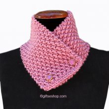 knit scarf pattern for women