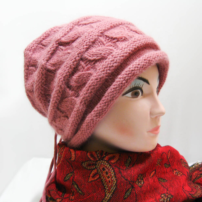 Knit Hat Pattern Slouchy Hat Pattern Winter Women Slouch Hat Knit