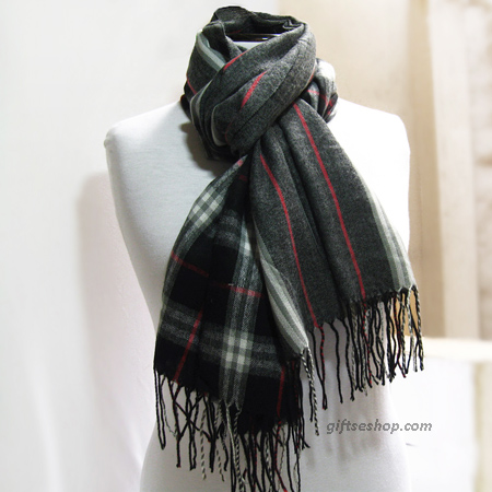 black scarf, long scarf, men scarf, men scarves, scarves for men, tartan scarves, plaid scarf