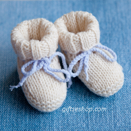 Free Knit Baby Bootie Pattern Easy : Baby Booties Ugg Free Knitting Pattern   Gifts shop