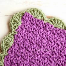 How to Crochet Easy Baby Blanket- Free Crochet Pattern