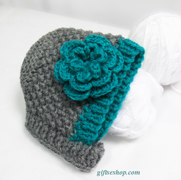 Baby Hat Bonnet Knitting Pattern — Baby Bonnet Pattern