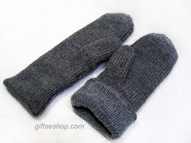 Easy Mitten Knitting Pattern Free : Knitting free patterns   Gifts shop