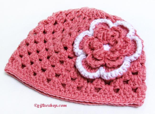 baby crochet hat  pattern