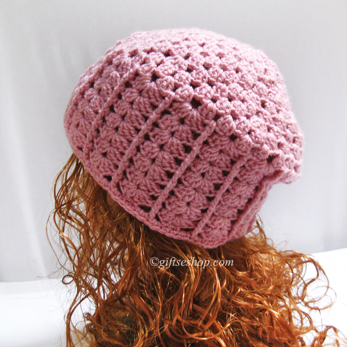 Crochet Beanie Pattern -Women Hat Pattern PDF N67 – Gifts shop 5e4239681