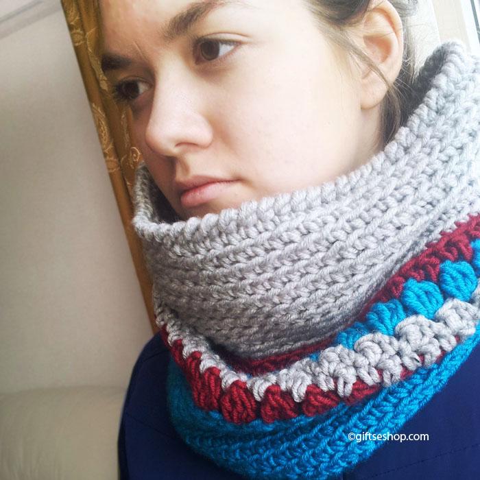 Crochet Cowl Neckwarmer Free Pattern