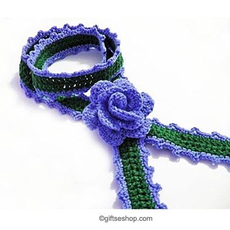 crochet lariat pattern