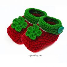 Knitted Baby Booties- Baby Shoes Pattern