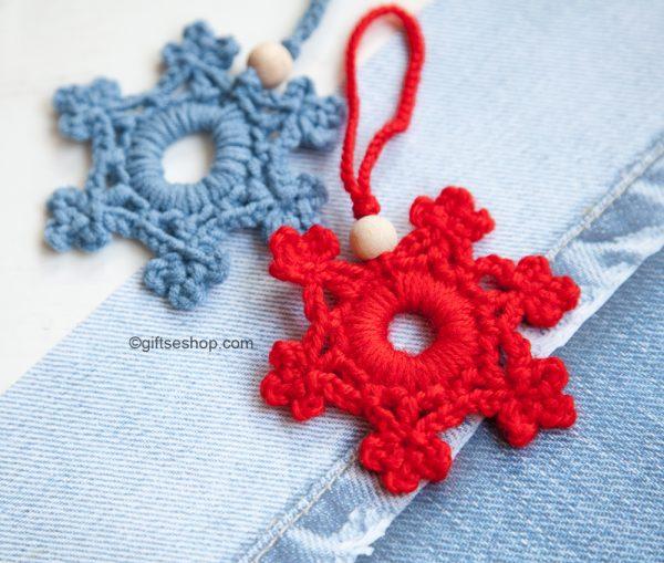 Snowflake Pattern Crochet Snowflake