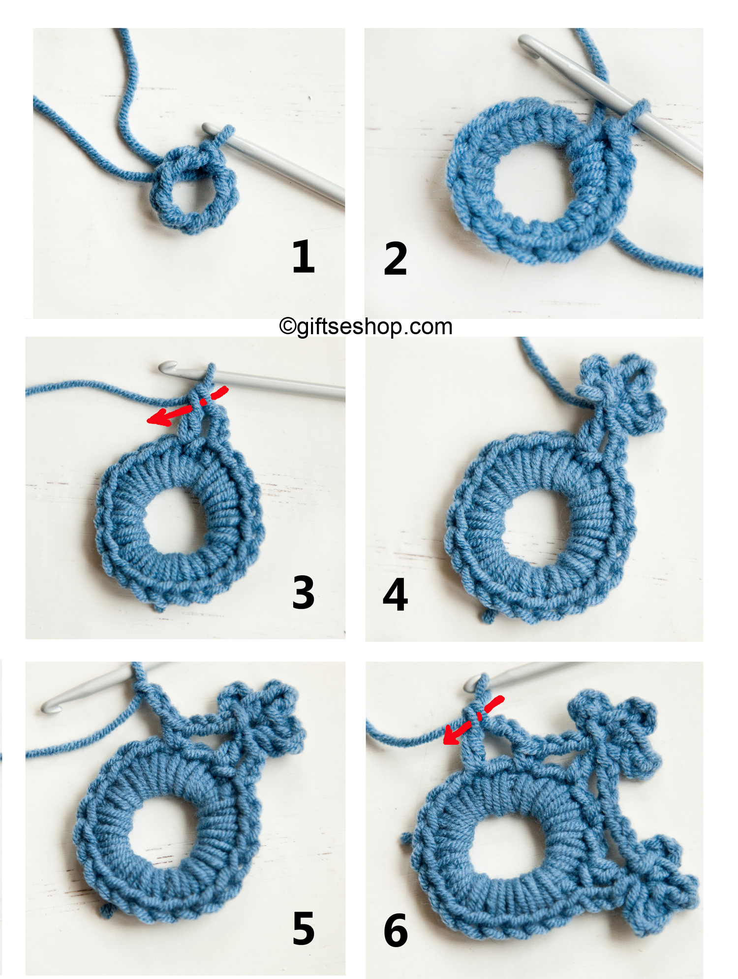 Crochet free patterns – Gifts shop