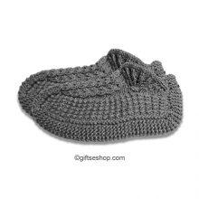 knitting pattern slippers socks