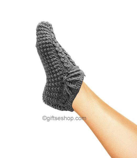 knitting pattern slippers