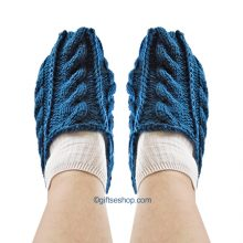 knotted slippers pattern
