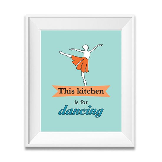 Kitchen art, typography poster, kitchen prints