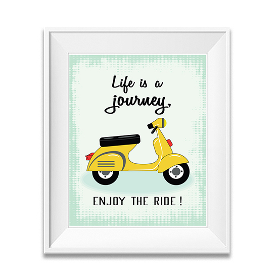 Motivational Quotes Enjoy the Ride