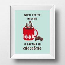 cofee print- coffee poster