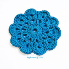 Crochet Coasters Pattern- Cup Coaster