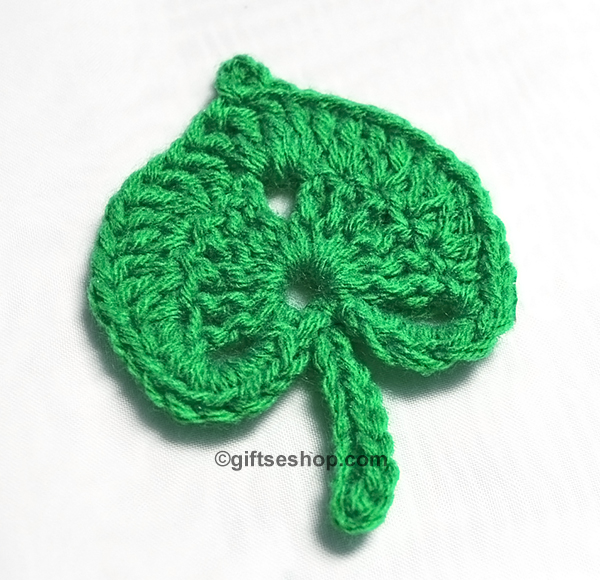 Crochet leaf pattern for crochet flower irish crochet motifs crochet leaf irish crochet dt1010fo