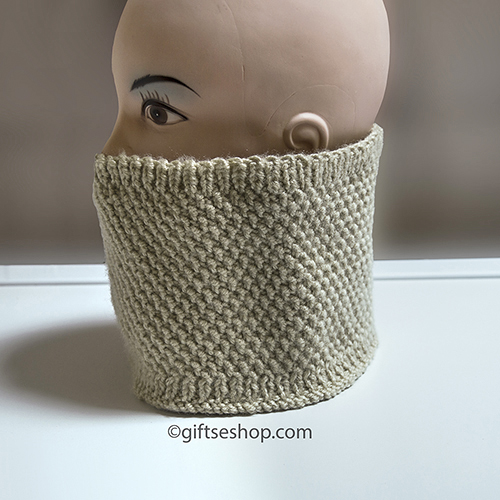 Sowl Knitting Pattern Cowl Scarf Suitable For Men N90 Gifts Shop